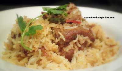 lamb biriyani,chicken biriyani recipe with picture easy preperation finediningindian.com
