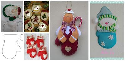 guantes-navideños-fieltro