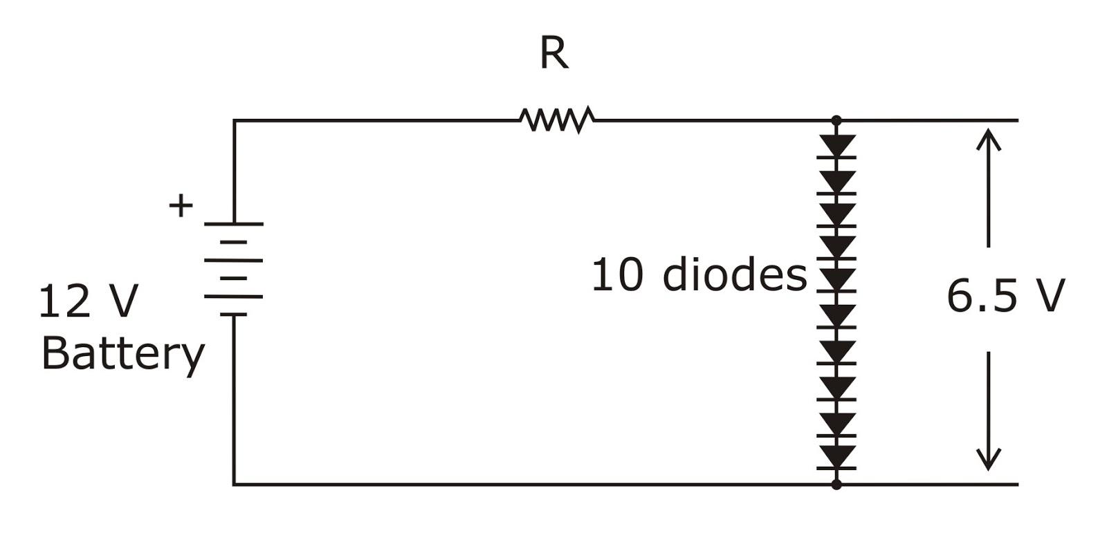 circuit diagram zener diode characteristic [ 1600 x 784 Pixel ]