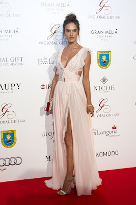 Alessandra Ambrosio Might Be an Angel, but She Looked Like a Princess at the Global Gift Gala