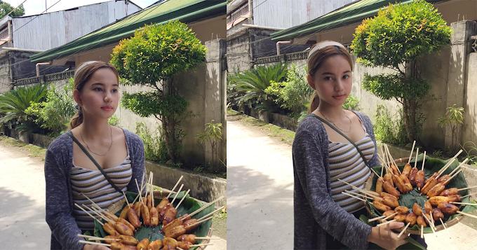 Pretty Banana-cue Vendor of Davao went viral!   City Servants