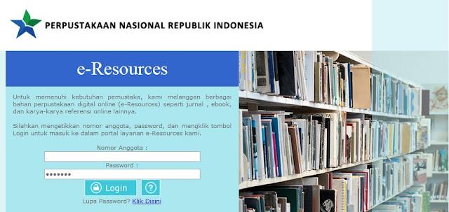 Layanan Elektronik Gratis Ke Ribuan Bacaan Di Perpustakaan Nasional