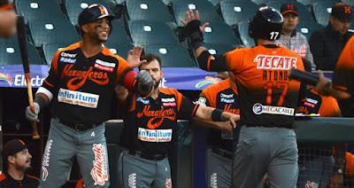 Yaquis de Ciudad Obregón pierden ante Naranjeros de Hermosillo por 9 carreras a 3