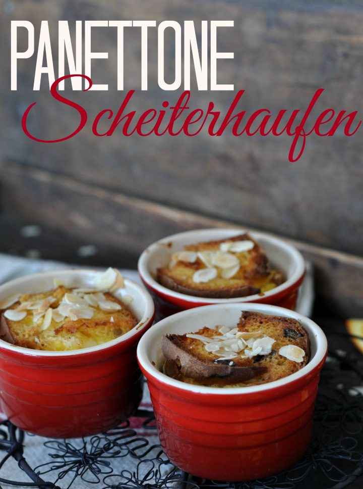 Gratinated Panettone - the perfect way to use christmas leftovers (and it's glutenfree, too!)