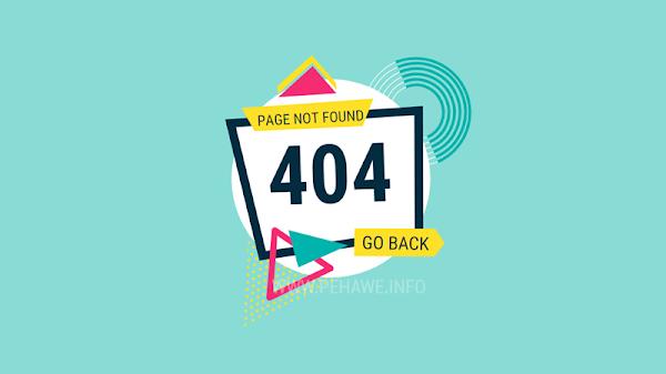 Cara Redirect Otomatis Halaman Error 404 Blogger dan Wordpress