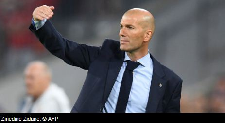 Zinedine Zidane Kembali Jadi Pelatih Real Madrid
