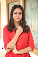 Actress Lavanya Tripathi Latest Pos in Red Dress at Radha Movie Success Meet .COM 0109.JPG