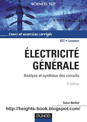 Télécharger Livre Gratuit Cours et Exercice Corrigé Électricité générale pdf