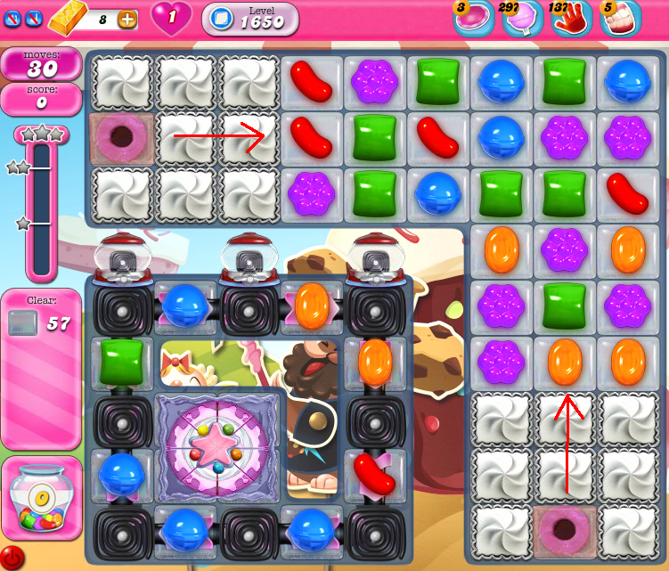 Candy Crush Saga 1650