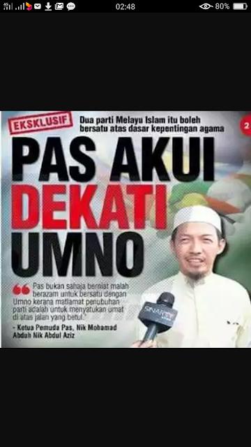 Hasil carian imej untuk Mereka Akui Kekuatan PAS, UMNO, DAP &PAN Juga...