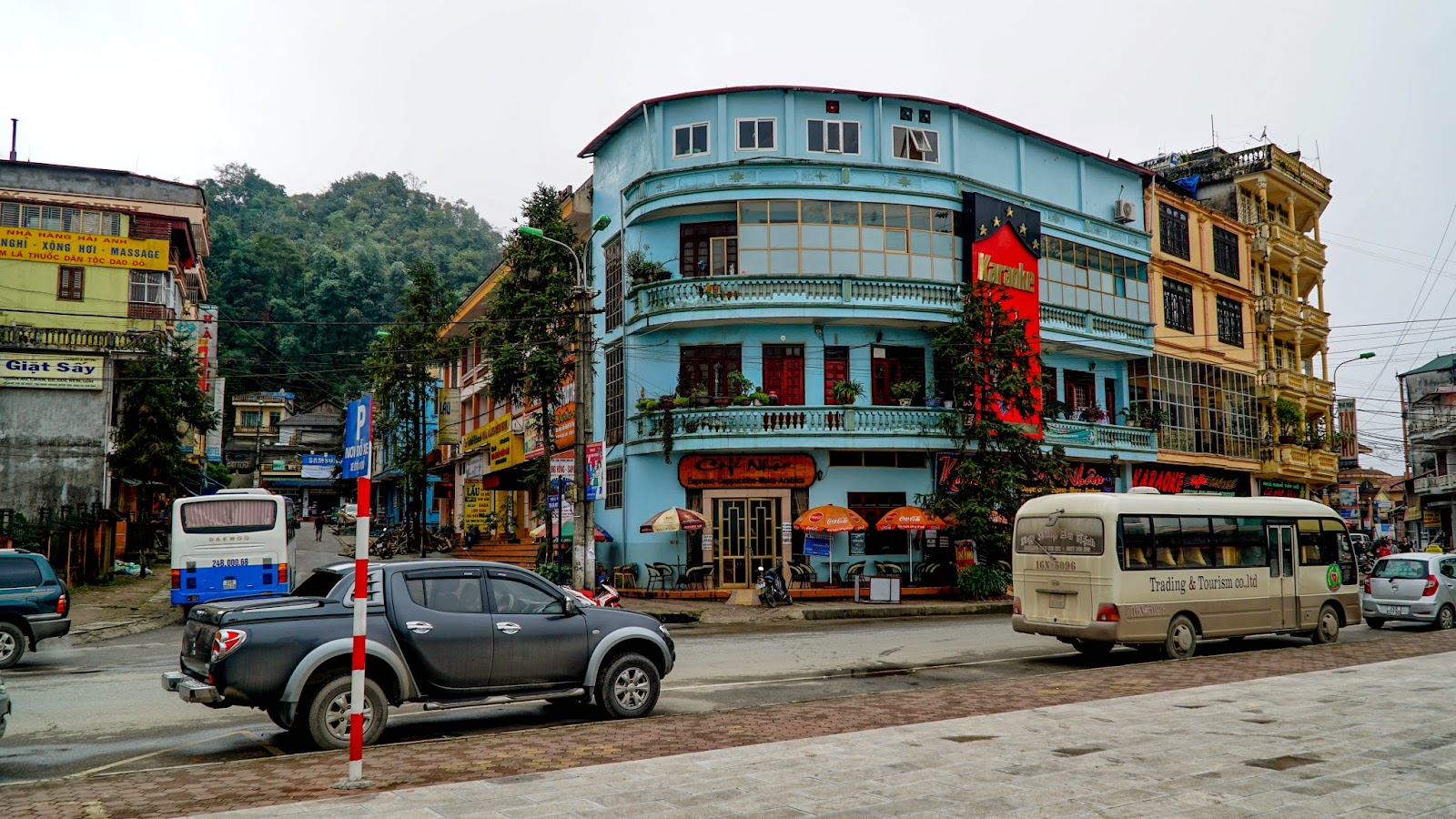 Another part of Sapa town, closer to the hotel I stayed in