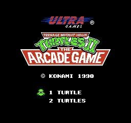 Corona Jumper: Teenage Mutant Ninja Turtles II: The Arcade Game (NES