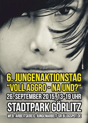 Jungenaktionstag in Görlitz am Samstag, den 26. September 2015