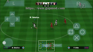 Download PES 2018 MX League v2 PSP for Android