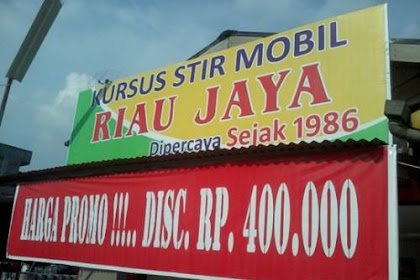 Lowongan Kursus Stir Mobil Riau Jaya Pekanbaru Maret 2019