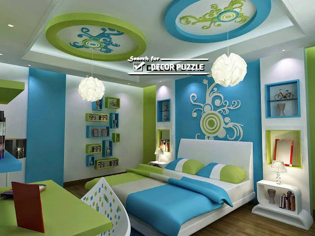 Colorful and Modern Kid's Bedroom Design Ideas