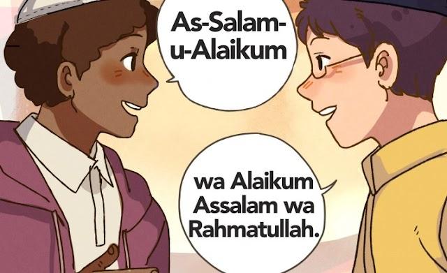 Memberi salam sunat dan wajib menjawab salam