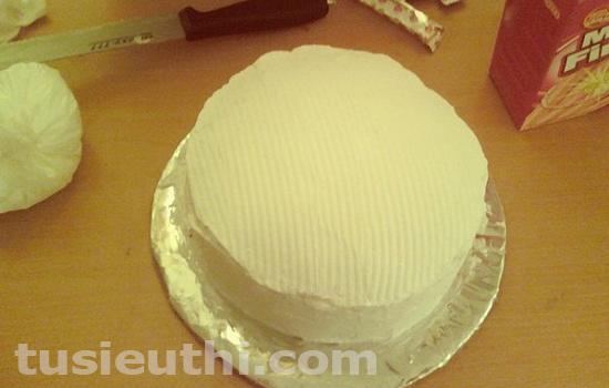 trang trí bánh kem,bánh sinh nhật tại nhà