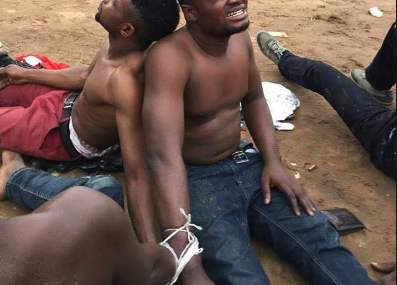 Yahoo boys caught with 200 pants