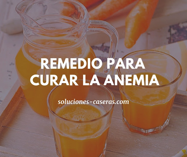 remedio para curar la anemia
