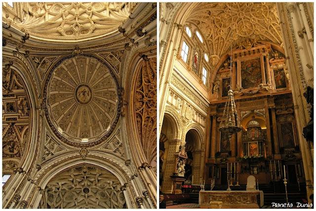 Bóveda del crucero y Altar Mayor