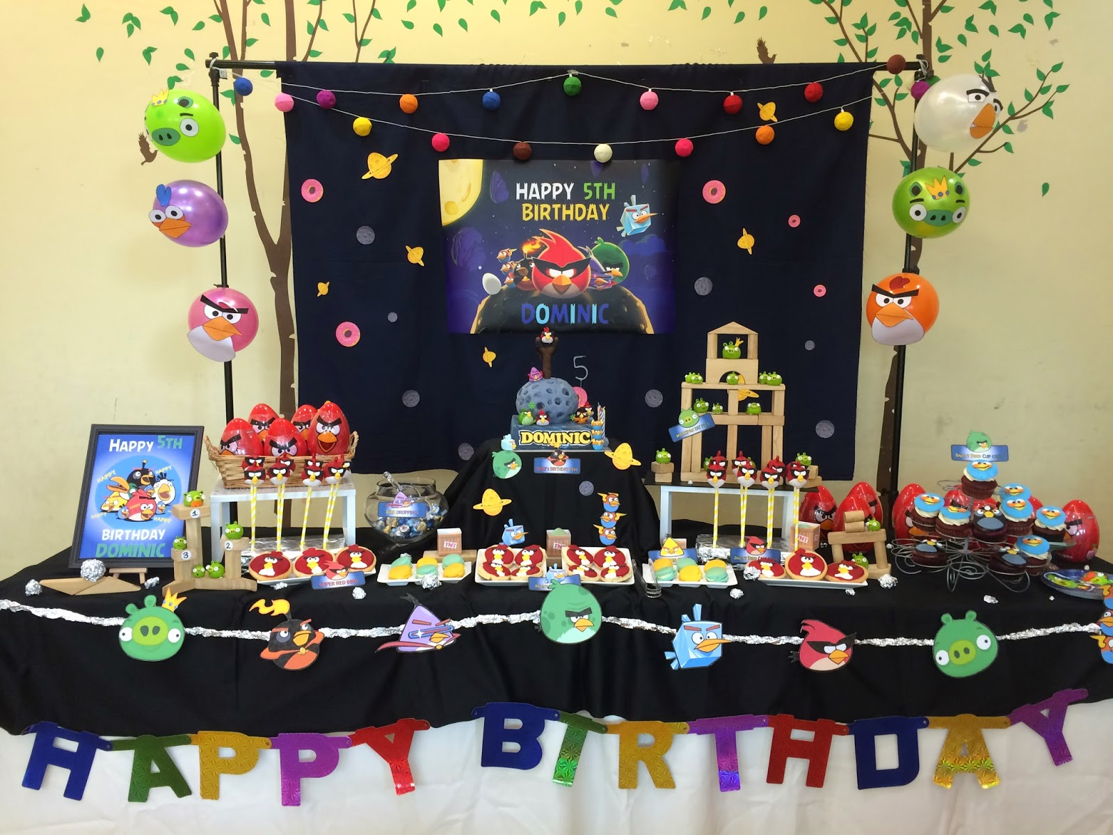 Angry Birds Space Party Goodies Crissa S Cake Corner
