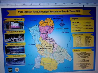 Hasil Layout Peta IKM di Kecamatan Sentolo Tahun 2015 www.guntara.com