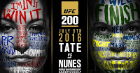 UFC 200 free fight video