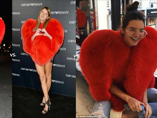 Rihanna vs Anna Dello Russo & Kendall Jenner