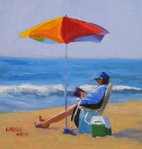 figurative artists international  set for the day  seascape paintings  beach scenes  colorado