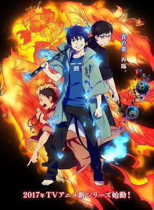 Ao no Exorcist: Kyoto Fujouou-hen (Temporada 2) 12/12 + OVA HDLigero 150 MB SUB ESPAÑOL (MEGA)