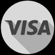 visa whiteout icon