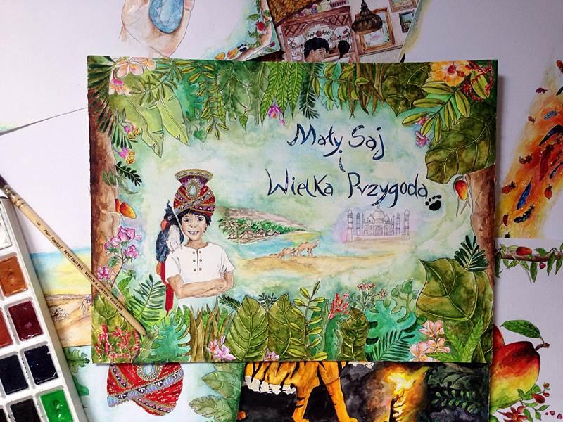 Moje pierwsze ilustracje do książki dziecięcej (konkurs Piórko)