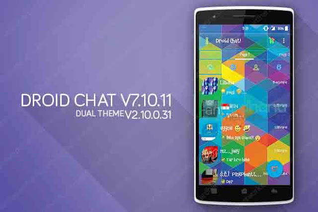 Droid Chat V7.10.11 Dual Theme - BBM Android V2.10.0.31