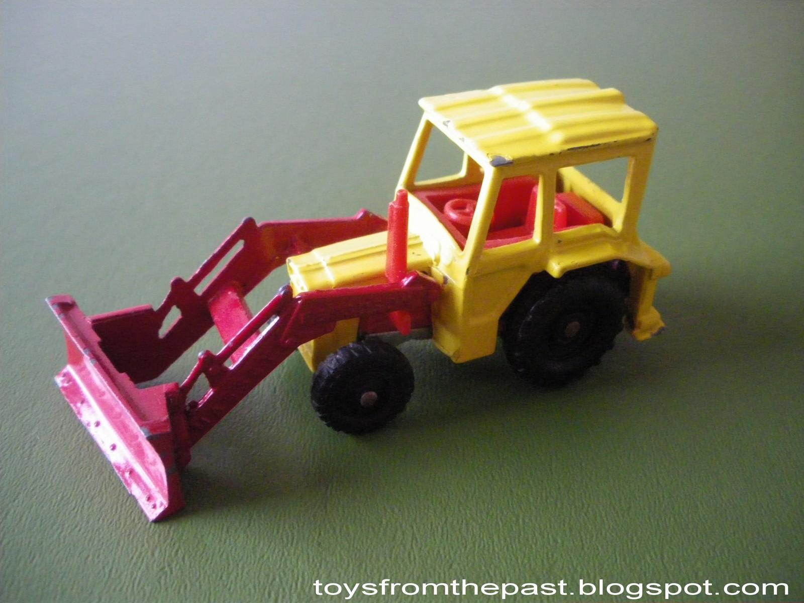Toys From The Past 249 Corgi Juniors Tractor Shovel