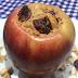 Receita deliciosa e saudável de maçã assada recheada