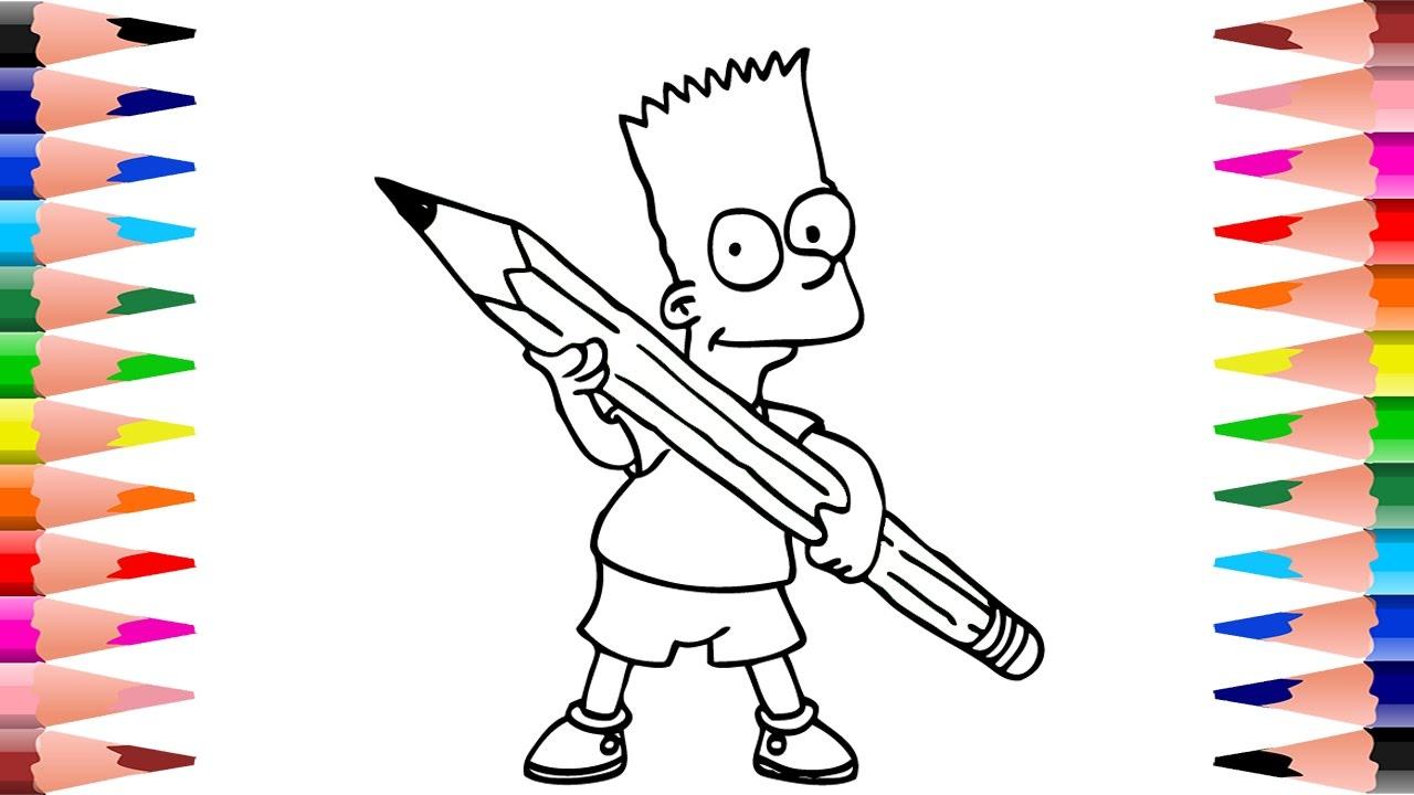 Os Simpsons Para Colorir