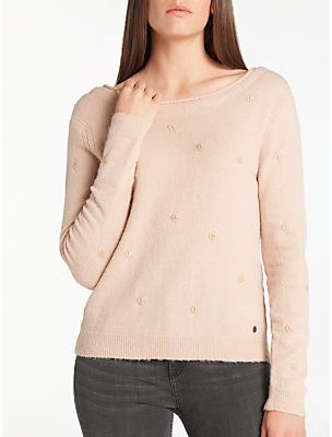 Numph Nungo jumper in Rose Dust