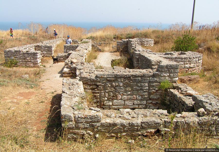 Развалины на мысе Калиакра, Болгария
