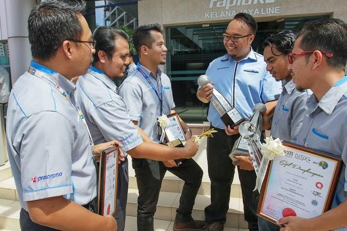 Inovasi GTRS Hasil Penjimatan Jutaan RM Untuk #Prasarana #RapidKL