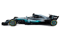 Mercedes-AMG W08 EQ Power+ 2017 Side