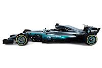 Mercedes-AMG W08 EQ Power+ 2017 Side