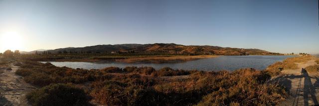 Sabarza lagoon panoramic view II