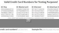 Generare numeri di carte di credito da usare per prove e iscrizioni