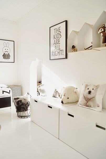 Muxugorri Blog Habitaciones Infantiles Todo Al Blanco - Habitaciones-infantiles-en-blanco
