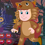 Games4King Find Lion Suit