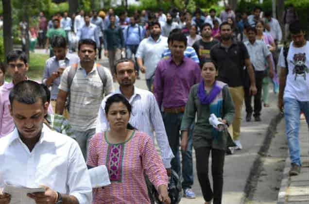 MILLIONS OF JOBLESS INDIANS LOOKING FOR LUCK AFTER ELECTIONS