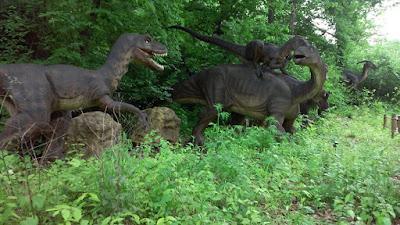 Dinosaur Alive Exhibit at Worlds of Fun