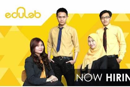 Lowongan Edulab Pekanbaru September 2018