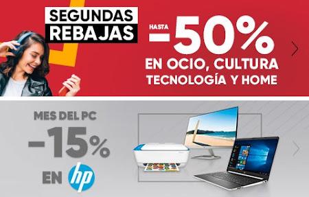 Top 10 ofertas Segundas Rebajas y -15% en HP de Fnac.es